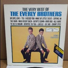 Discos de vinilo: THE VERY BEST OF THE EVERLY BROTHERS / LP - WARNER BROS - 1983 / MBC. ***/***. Lote 114964175