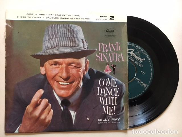 FRANK SINATRA WITH BILLY MAY AND HIS ORCHESTRA ?– COME DANCE WITH ME / EP EAP 2-1 - 1959 - ED UK (Música - Discos de Vinilo - EPs - Jazz, Jazz-Rock, Blues y R&B)
