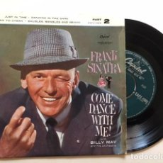 Discos de vinilo: FRANK SINATRA WITH BILLY MAY AND HIS ORCHESTRA ?– COME DANCE WITH ME / EP EAP 2-1 - 1959 - ED UK. Lote 114971267
