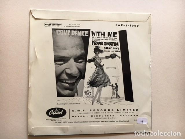 Discos de vinilo: Frank Sinatra With Billy May And His Orchestra ?– Come Dance With Me / EP EAP 2-1 - 1959 - ED UK - Foto 2 - 114971267