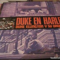 Discos de vinilo: LP-DUKE ELLINGTON DUKE EN HARLEM CORAL MOVIEPLAY 21237 SPAIN 1970 JAZZ JUNGLE. Lote 114971447