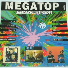 Disques de vinyle: MEGATOP - LP - ARCADE 1992 - O.B.K. / ASAP / K.L.F. / SONYA DAVIS / KRIS KROSS - RESERVADO. Lote 114973119