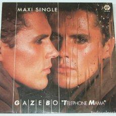 Discos de vinilo: GAZEBO - TELEPHONE MAMA - BABY RECORDS - BR-54049 SPAIN. Lote 114973971