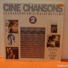 Discos de vinilo: CINE CHANSONS. Lote 114974591