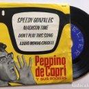 Discos de vinilo: PEPPINO DE CAPRI Y SUS ROCKERS - SPEEDY GONZALES + 3 / EP BELTER 50.631 - 1962 - ED ESPAÑOLA. Lote 114974675