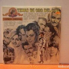 Discos de vinilo: TEMAS DE ORO DEL CINE. Lote 114976743