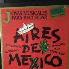Discos de vinilo: AIRES DE MEXICO-3 LP-PRECINTADO NUEVO. Lote 114997224