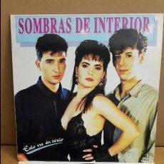 Discos de vinilo: SOMBRAS DE INTERIOR / ESTO VA EN SERIO / LP - HORUS - 1991 / MBC. ***/***. Lote 115012167