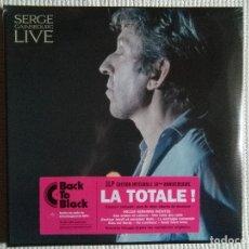 Discos de vinilo: SERGE GAINSBOURG - '' LIVE '' 3 LP REMASTERED 2015 FRANCE SEALED. Lote 109200559