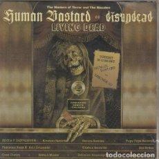 Discos de vinilo: HUMAN BASTARD / DISUNDEAD - LIVING DEAD - SINGLE PUNK DE VINILO CON 6 TEMAS. Lote 115015355