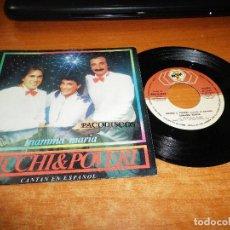 Discos de vinilo: RICHI & POVERI MAMMA MARIA / MALENTENDIDO CANTAN EN ESPAÑOL SINGLE VINILO 1983 ESPAÑA 2 TEMAS. Lote 115018859