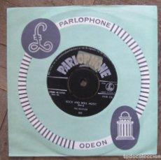 Discos de vinilo: BEATLES. NO REPLY; ROCK AND ROLL MUSIC. PARLOPHONE HOLANDA 1965. CARÁTULA GENÉRICA. VG++, VG++.. Lote 115020143