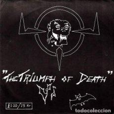 Discos de vinilo: VI - THE TRIUMPH OF DEATH - SINGLE PUNK DE VINILO CON 7 TEMAS. Lote 115021179