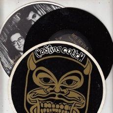 Discos de vinilo: RED DEVILS / FIREWORKS / ACTION FAMILY / DOG - CASTING COUCH - SINGLE PUNK DE VINILO. Lote 115021775