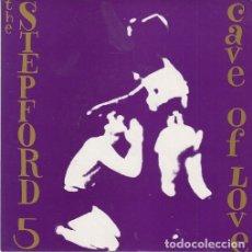 Discos de vinilo: THE STEPFORD 5 - CAVE OF LOVE - SINGLE PUNK DE VINILO CON 4 TEMAS. Lote 115022431