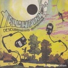 Discos de vinilo: YELLOWFINN - DESCUBRIIENTOS ASOMBROSOS - SINGLE PUNK DE VINILO NOISE. Lote 115023175