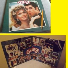 Discos de vinilo: JOHN TRAVOLTA & OLIVIA NEWTON JOHN - GREASE 78 !! DOBLE LP, EDIC USA, TODO EXC. Lote 115025078