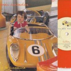 Discos de vinilo: LOS MAS TURBADOS - LULLABY - SINGLE PUNK DE VINILO - VINILO NARANJA. Lote 115025191