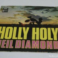 Discos de vinilo: SOLO FUNDA - NEIL DIAMOND - HOLLY HOLY. Lote 115028347