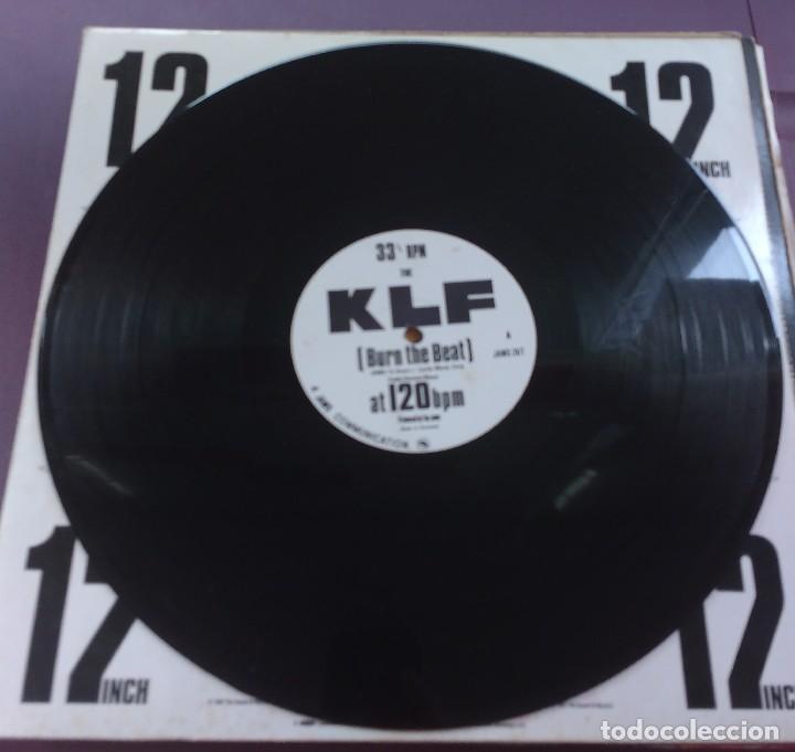 Discos de vinilo: The KLF – Burn The Beat - Foto 3 - 115049611