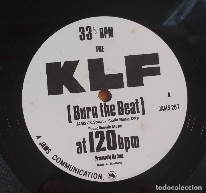 Discos de vinilo: The KLF – Burn The Beat - Foto 4 - 115049611