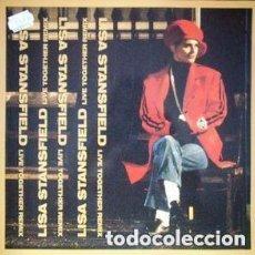 Discos de vinilo: LISA STANSFIELD- LIVE TOGETHER (NEW VERSION) - MAXI-SINGLE SPAIN 1990. Lote 115055399