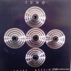 Discos de vinilo: JUMO- ENTRE ASESINOS - SPAIN LP 1990- VINILO COMO NUEVO.. Lote 115060671
