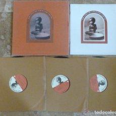 Discos de vinilo: BOX 3 LP´THE CONCERT FOR BANGLADESH GEORGE HARRISON & BOB DYLAN 1971 BEATLES EDICIÓN ESPAÑA. Lote 163347913