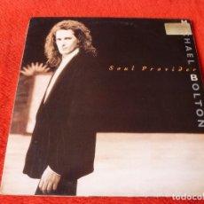 Discos de vinilo: (XM)DISCO-SOUL PROVIDER(MICHAEL BOLTON)- L.P.EDICIÓN 1989-CBS RECORDS. Lote 115068115