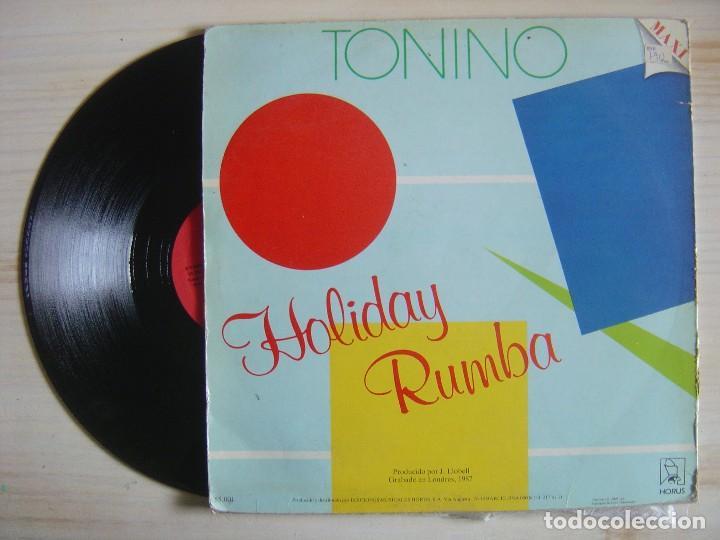 Discos de vinilo: TONINO - Holiday Rumba - Ovi, ova - MAXISINGLE 45 -1987 - HORUS - Foto 2 - 115068567