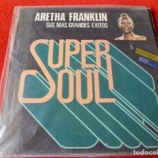 Discos de vinilo: (XM)DISCO-SUPER SOUL ARETHA FRANKLIN SUS MAS GRANDES EXITOS- L.P.EDICIÓN 1982. Lote 115069479