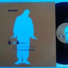 Discos de vinilo: M-BEAT FEAT. JAMIROQUAI - '' DO U KNOW (WHERE YOU'RE...) '' MAXI 12'' UK 1996. Lote 115069811