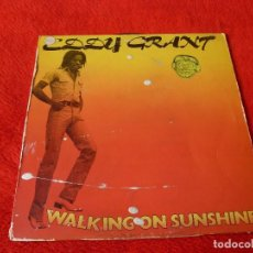 Discos de vinilo: (XM)DISCO-EDDY GRANT. WALKING ON THE SUNSHINE. LP 1979. Lote 115071327