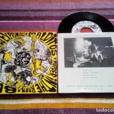 Discos de vinilo: CEREBROS EXPRIMIDOS-BULLETS-LOS MALDITOS-MURDER IN THE BARN EP. MUNSTER RECORDS1990 PORTADA MURILLO. Lote 115077927