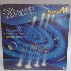 Discos de vinilo: BONEY M. TEN THOUSAND LIGHTYEARS. Lote 115082051