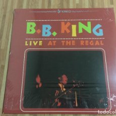 Discos de vinilo: B.B.KINK,,LIVE AT THE REGAL,,PRECINTADO 180 GRAMOS,,REEDICION.. Lote 115099227