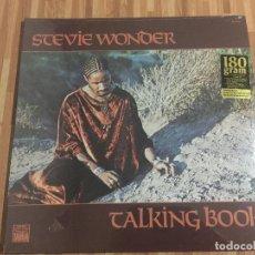 Discos de vinilo: SREVIE WONDER,,TALKING BOOK,,REEDICION,180 GRAMOS,NUEVO PRECINTADO.. Lote 115099591