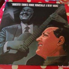 Discos de vinilo: ROBERTO TORRES RINDE HOMENAJE A BENY MORÉ.-LP-1991.-CIENFUEGOS+DOLOR Y PERDÓN + OTRAS. Lote 115103875