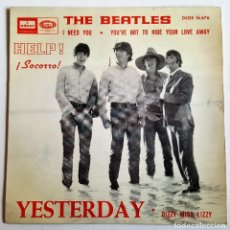 Discos de vinilo: THE BEATLES YESTERDAY - SPAIN 1965 - 45 RPM. Lote 115108575