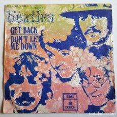 Discos de vinilo: THE BEATLES GET BACK - SPAIN 1969 - 45 RPM. Lote 115109331