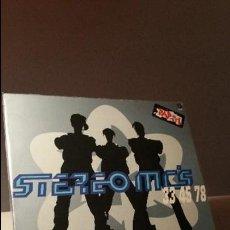Discos de vinilo: STEREO MC'S 33 45 78 LP. Lote 115114667