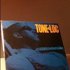 Discos de vinilo: TONE LOC COOL HAND LOC LP. Lote 115115223
