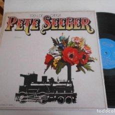 Discos de vinilo: PETE SEEGER-LP TREN DE CARGA-PORT.ABIERTA. Lote 115116927