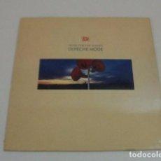 Discos de vinilo: LOTE LP DEPECHE MODE MUSIC FOR THE MASSES SELLO MUTE 1987 CON ENCARTE....SALIDA 1 EURO. Lote 115118167