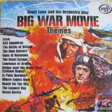 Discos de vinilo: LP - BIG WAR MOVIE THEMES - GEOFF LOVE AND HIS ORCHESTRA (ENGLAND, MFP 1971). Lote 115118299