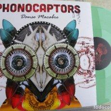 Discos de vinilo: PHONOCAPTORS- DANSE MACABRE -LP -VINILO COLOR VERDE -IMPECABLE. Lote 115121339