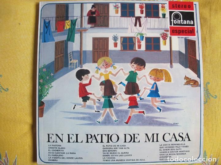 LP - EN EL PATIO DE MI CASA - COROS DE LAS ESCUELAS AVEMARIANAS (SPAIN, FONTANA 1969) (Música - Discos - LPs Vinilo - Música Infantil)