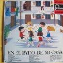 Discos de vinilo: LP - EN EL PATIO DE MI CASA - COROS DE LAS ESCUELAS AVEMARIANAS (SPAIN, FONTANA 1969). Lote 115124387