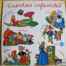 Discos de vinilo: LP - CUENTOS INFANTILES - VARIOS (SPAIN, EMI REGAL 1968, CONTIENE LIBRETO CON LAS LETRAS). Lote 115124591