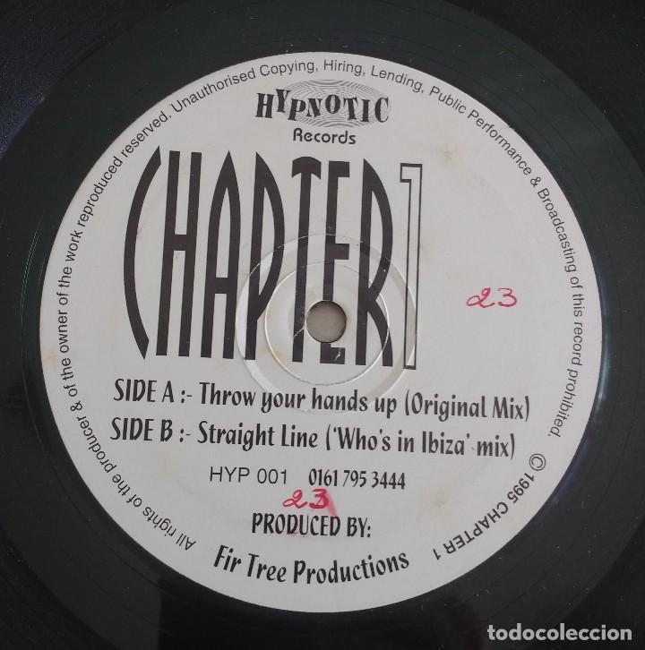 CHAPTER1 – THROW YOUR HANDS UP / STRAIGHT LINE (Música - Discos de Vinilo - Maxi Singles - Techno, Trance y House)